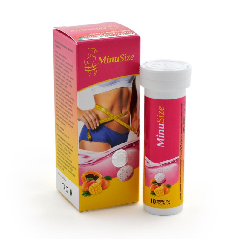 MinuSize - шипучие таблетки для похудения