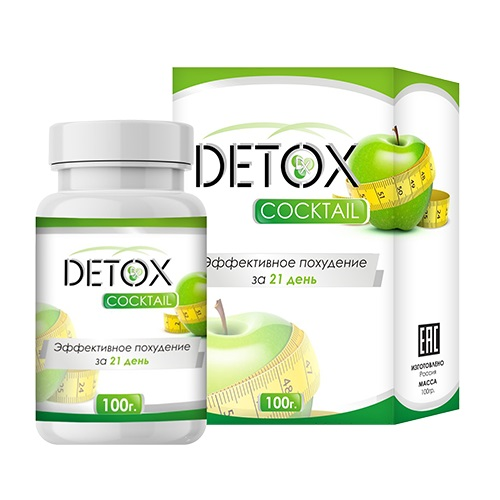 Detox коктейль для похудения