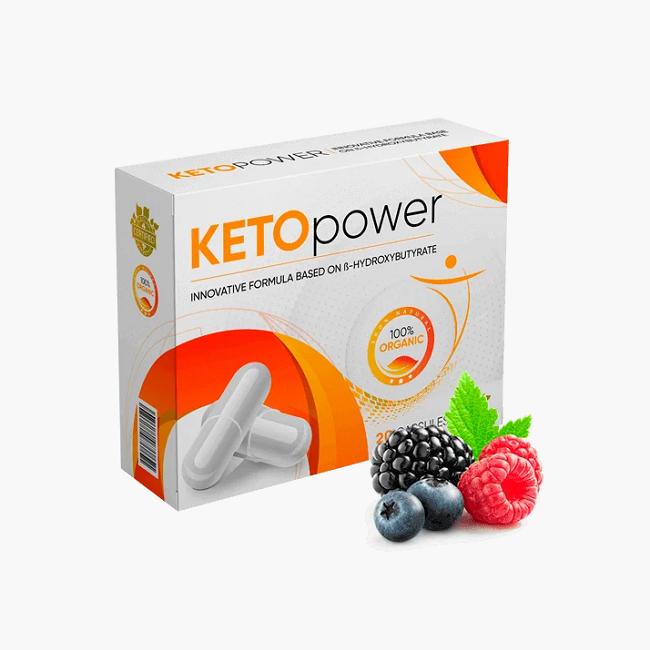 KETO power капсулы для похудения