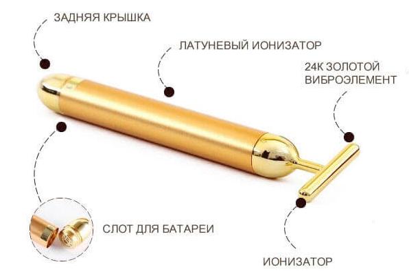 Вибромассажер Revoskin состав