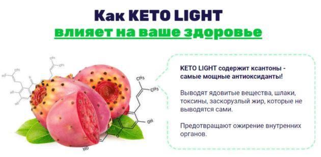 Как работает KETO LIGHT