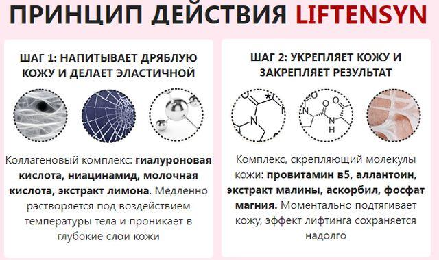 Как действует LIFTENSYN