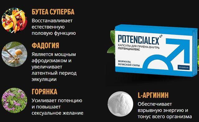 Состав Потенциалекс