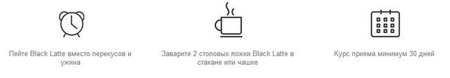 Способ применения Black Latte