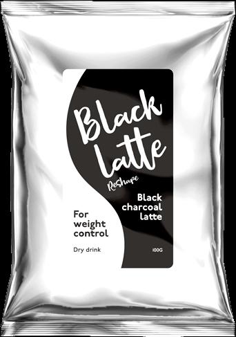 BLACK LATTE средство для похудения