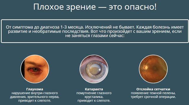 Плохое зрение — это опасно